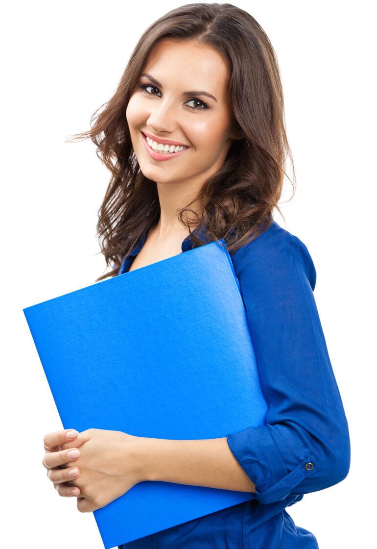 woman-blue